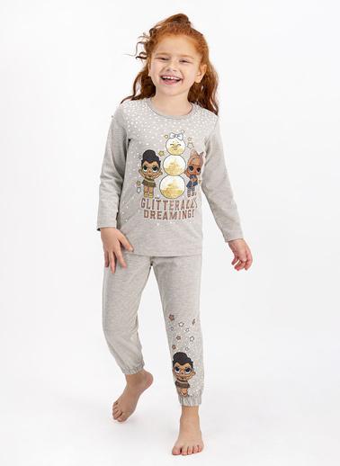 LOL Pijama Takım Bej